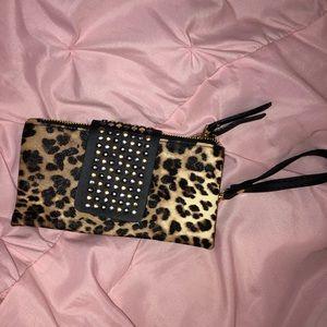 Cheetah Wristlet! NWOT!